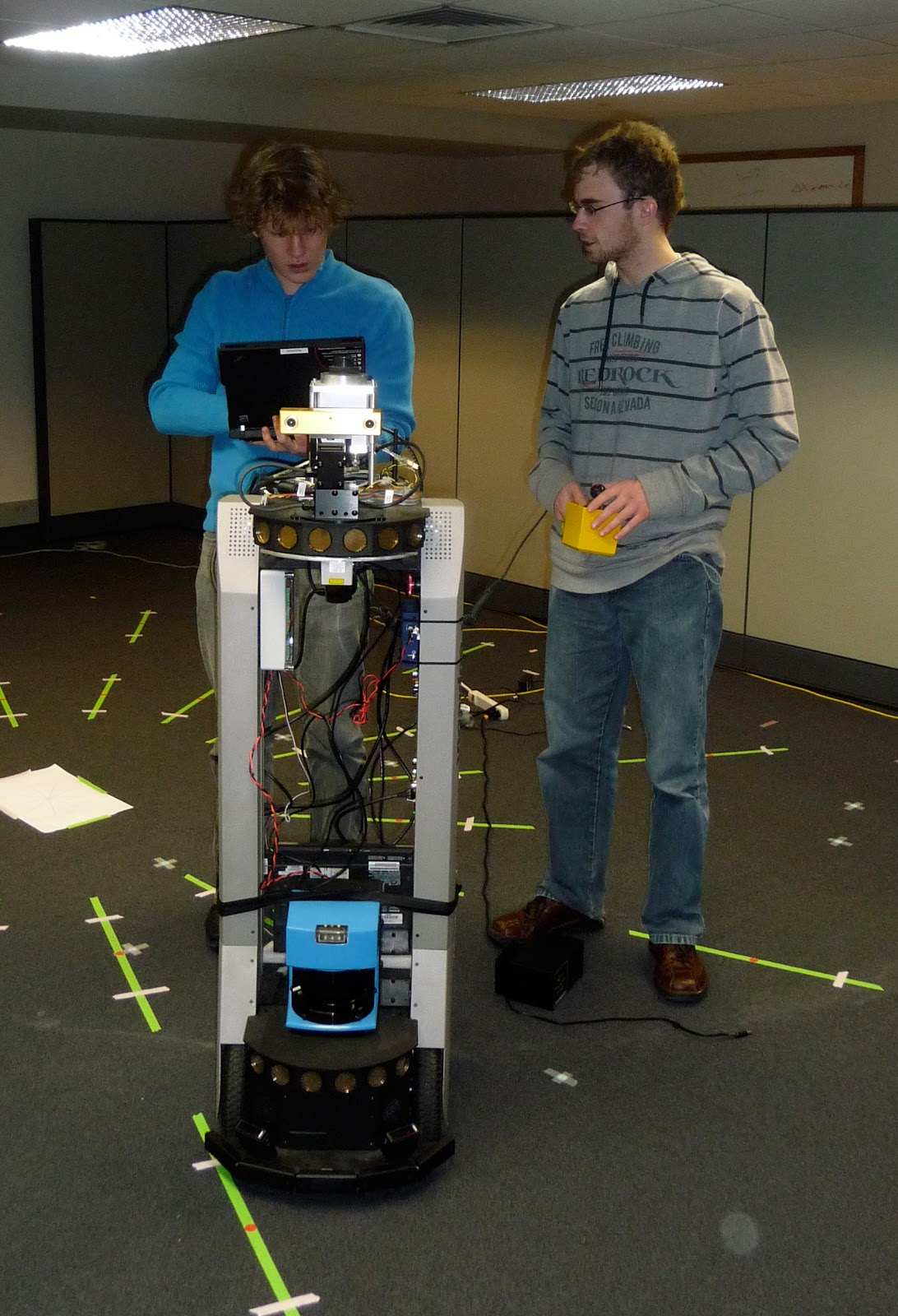 Working with the robot