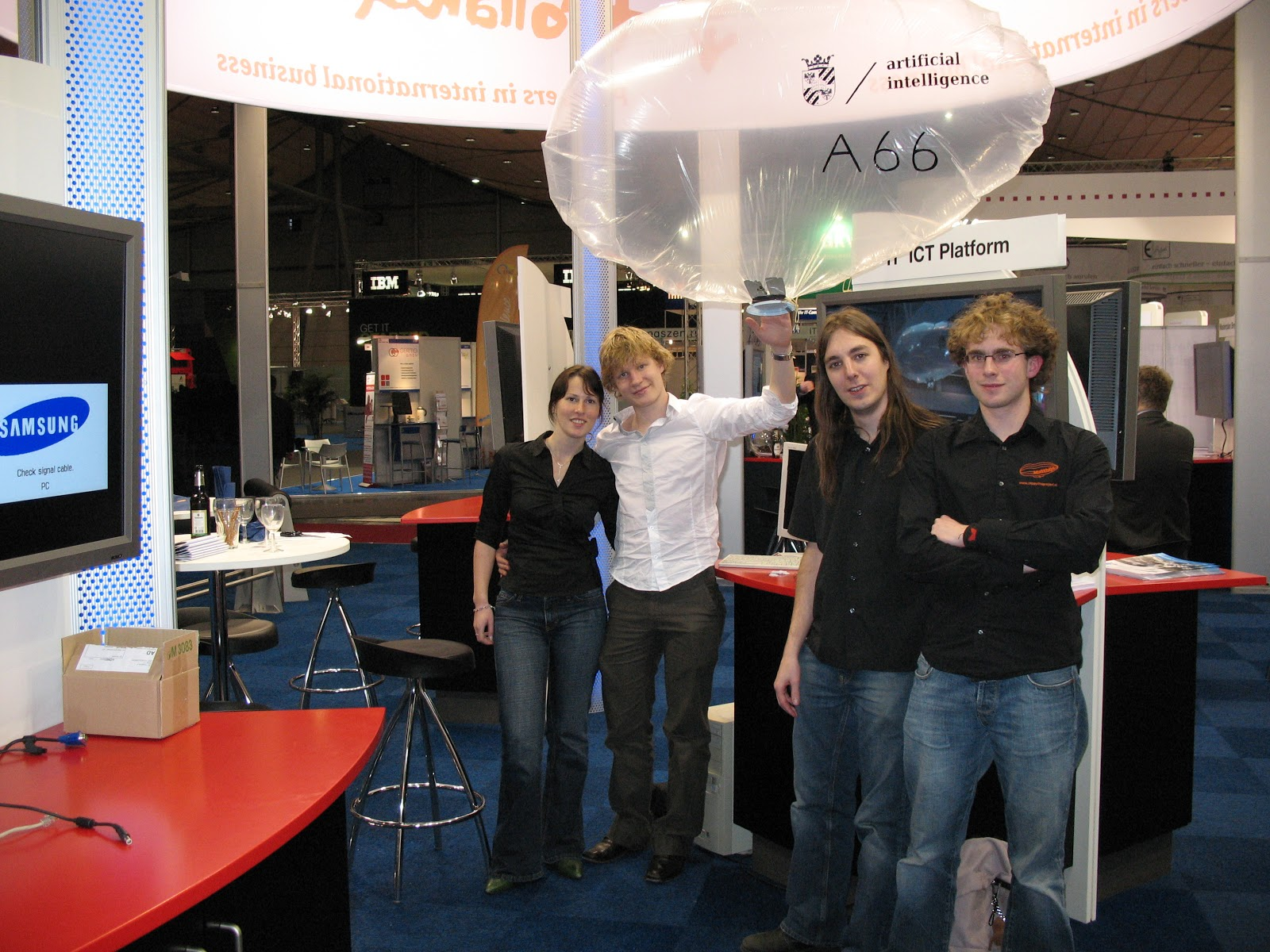 The team at CeBit